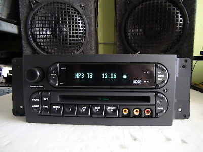 $69.99 • Buy Chrysler Pacifica 2004-2008 DVD MP3 CD Player REV Rear Controls TESTED
