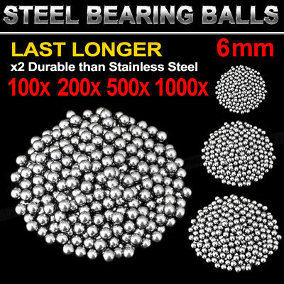 AU6.99 • Buy Replacement Parts 6mm Bike Bicycle Carbon Steel Loose Bearing Ball