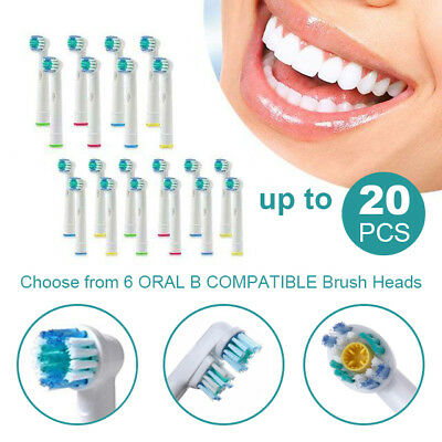AU14.48 • Buy Toothbrush Heads Oral B Compatible Electric Replacement Brush Heads Floss Flexi