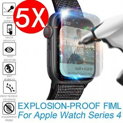 $ CDN3.19 • Buy 1-5pc Explosion-proof TPU Screen Protector Film For Apple Watch Series 4 40&44mm