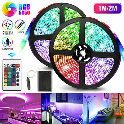 $11.97 • Buy USB LED Strip 5050 SMD RGB Mood Light TV Backlight Multi Color W/Remote Control