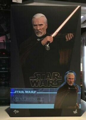$ CDN330.60 • Buy Hot Toys MMS496 Star Wars Attack Of The Clones Count Dooku 1/6 12  Action Figure
