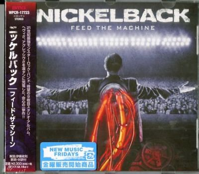 Nickelback-feed The Machine-japan Cd F04 • 20.67£