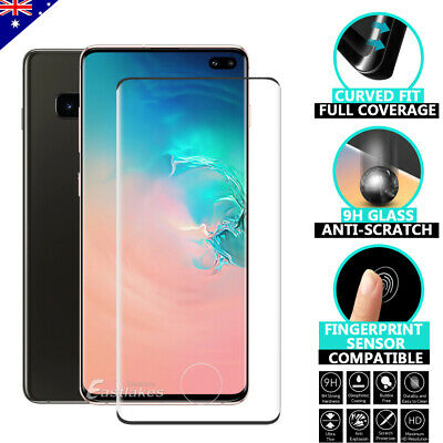 AU5.95 • Buy For Samsung Galaxy S10 5G S9 S8 Plus Note 10 9 Tempered Glass Screen Protector