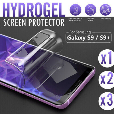 AU4.95 • Buy For Samsung Galaxy S10 5G S9 S8+ S10e Note 10 9 8 HYDROGEL Screen Protector