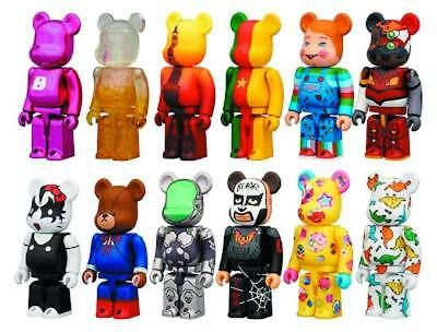 $699.98 • Buy Medicom Bearbrick Be@rbrick Series 25 Full Box Display Case 24 Pieces Sealed New