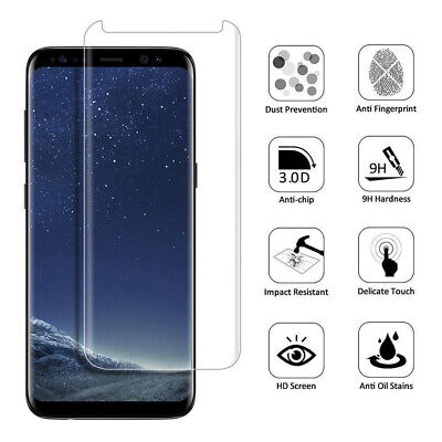 $ CDN5.09 • Buy For Samsung Galaxy S9 Tempered Glass Screen Protector Case Friendly Clear