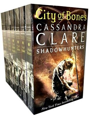 Mortal Instruments Cassandra Clare Set Shadowhunters Series 6 Books Collection  • 16.43£