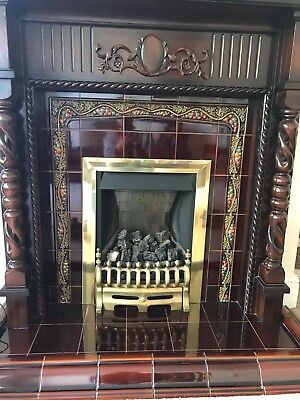 Mahogany Fire Surround Perfect Condition.....To Collect Only Please!!! • 300£