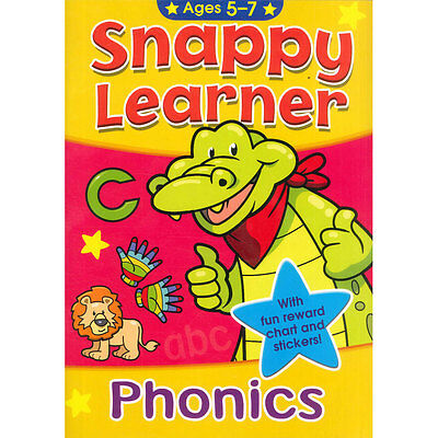 Snappy Learner Phonics Learn To Read Book Reward Chart & Stickers School Age 5-7 • 2.49£