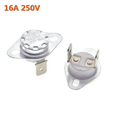 16A 250V Temperature Switch Control Sensor Thermal Thermostat 40°C-180°C KSD302 • 2.99£