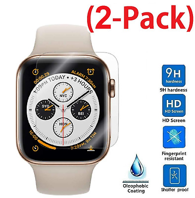 $ CDN0.99 • Buy For Apple Watch IWatch Series 4 Tempered Glass Screen Protector 40mm / 44mm TY