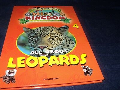 £4.95 • Buy Deagostini My Animal Kingdom - Issue 4 - All About Leopards