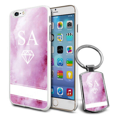 Personalised Strong Case Cover & Personalised Keyring For Mobiles - Q08 • 6.79£