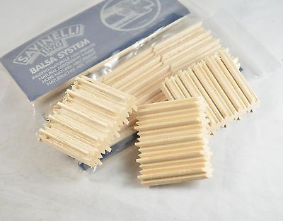 AU17.89 • Buy 45pcs Fine SAVINELLI Natural Wood 9mm Filter Insert For Tobacco Smoking Pipe H15