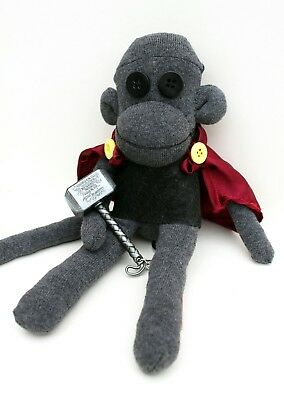 Thor Sock Monkey MADE TO ORDER Unique Handmade Christmas Gift Idea Geek Gift  • 25£