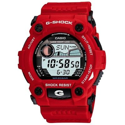 View Details Casio G-7900A-4ER Mens G-Shock G-Rescue Red Watch RRP £105 • 59.99£