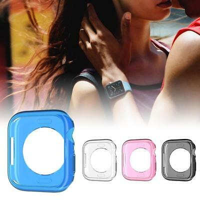 $ CDN1.96 • Buy For Apple Watch Series 4 40/44mm TPU Full Fitted Case Cover Screen Protector