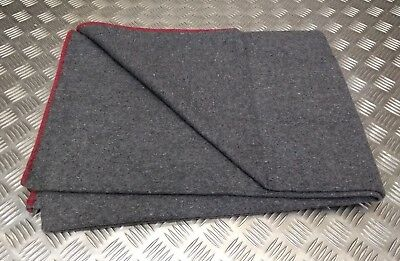 £23.99 • Buy Military Army Style Whipped End Blanket Wool Mix Blanket Personal Bedding New