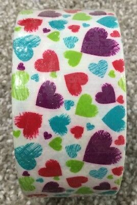 $4.25 • Buy Colorful Hearts ArtSkills! Tape Trends Designer Brand Duct Tape 1.70in X 5.90yds