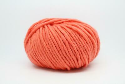 Conway And Bliss ODIN Chunky Knitting Wool/Yarn 100g - 07 Coral • 9.99£