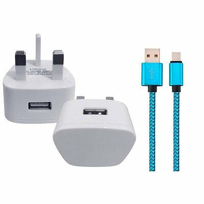 AU14.29 • Buy OnePlus 5t SMARTPHONE REPLACEMENT WALL CHARGER & USB 3.1 DATA SYNC LEAD