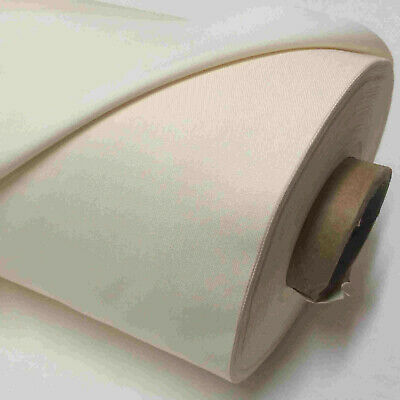 £3.85 • Buy Blackout Curtain Lining Fabric  3 Pass Ivory  Thermal Material Sold Per Metre