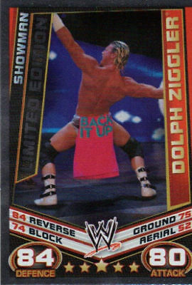 Slam Attax Rebellion Dolph Ziggler Limited Edition BY Topps • 1.75£