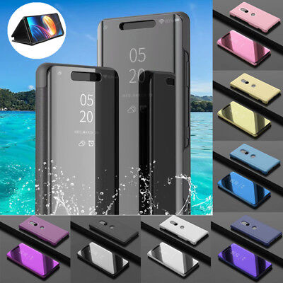 AU7.58 • Buy For Sony Xperia XZ3 Phone Case Flip Leather Mirror View  Stand Protective Cover