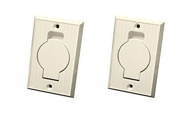 $ CDN37.99 • Buy (2) Central Vacuum Wall Hose Inlet Almond Beige For BEAM - NEW
