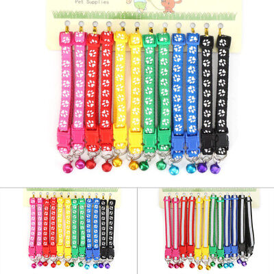 £6.77 • Buy 12Pcs Colours Dog Puppy Kitten Newborn Welping ID Bands Collars Set Necklace ! !