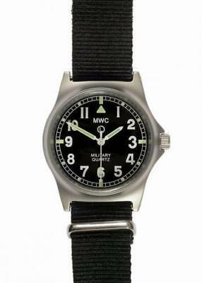 MWC G10 LM Stainless Steel Military Watch Non Date Black Strap G10LM/BLK/ND • 72.50£
