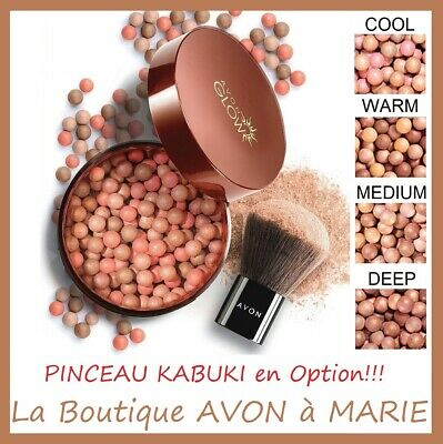 Beads Amber Bronzing Suncare For Face Avon Glow • 7.52£