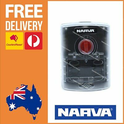 AU64.24 • Buy Narva 54446 6 Way ATS Fuse Box With Cover & Sticker Set DC To DC Fuse Box 54446