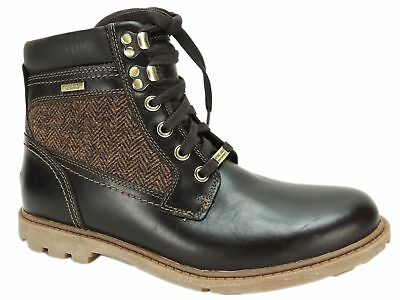 Rockport Men's Rugged Bucks High Boots Brown Leather Size 8 M • 51.10£