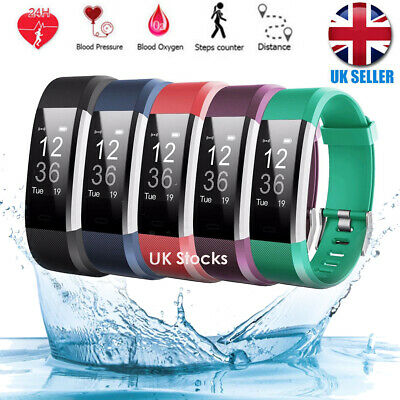 View Details Sports Fitness Tracker Watch Waterproof Heart Rate Activity Monitor Fitbit New • 22.69£