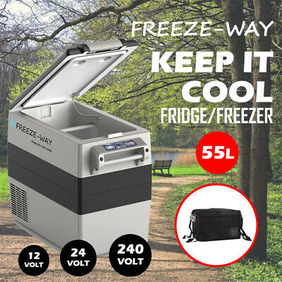 AU379 • Buy Freeze-Way 55L Car Portable Fridge Freezer Cooler Camping Caravan