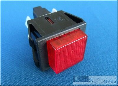 £9.99 • Buy Coffee Machine Maker Power Switch Red Neon Suit Gaggia Cubika Illuminated 16A