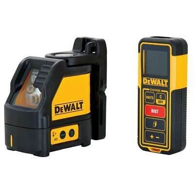 $284.05 • Buy DeWALT DW0889CG 100-Foot Cross Line Laser Level And Distance Measurer Combo Kit