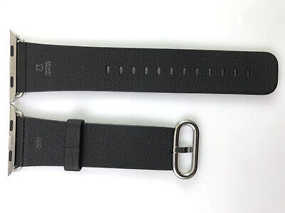 AU61.69 • Buy Original Apple Watch Band Classic Buckle Natural Leather Strap 42mm 44MM GENUINE