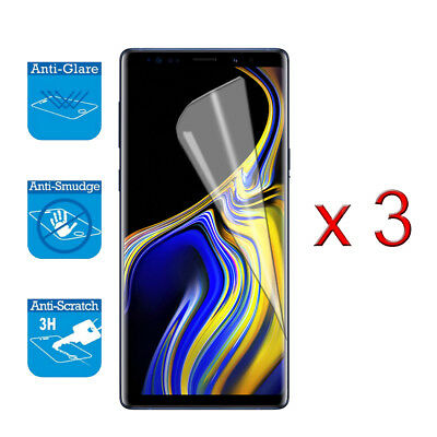 $ CDN3.39 • Buy For Samsung Galaxy Note 9 - Screen Protector Guard LCD Film Foil X 3 (NOT FULL)
