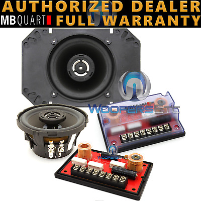 $ CDN200.73 • Buy MB QUART DKC-110 4  4x6  COMPONENT SPEAKERS TWEETERS CROSSOVERS MADE IN GERMANY