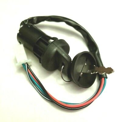 AU18.94 • Buy Ignition Key And Switch For Chinese Made 50cc Four Wheeler