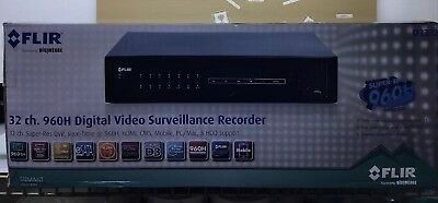 $1568 • Buy Digimerge FLIR 960H Super-Res 32 Channel DVR Include 16 Looping Outputs D3332000