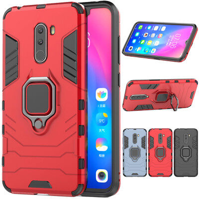 $ CDN4.49 • Buy Slim Hybrid Hard Armor Shockproof Case Kickstand Cover For Xiaomi Pocophone F1
