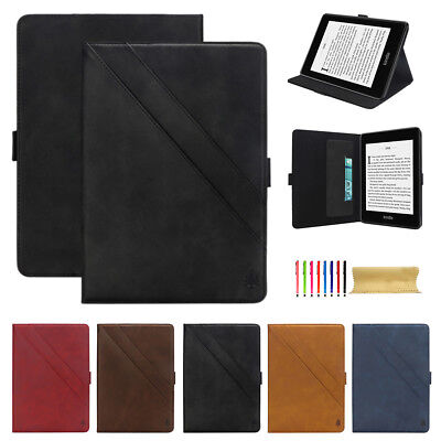AU24.49 • Buy Luxury Smart Leather Wallet Case Stand Cover For Amazon Kindle Paperwhite 2018