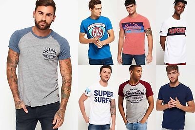 View Details New Mens Superdry Tshirts Selection - Various Styles & Colours 181218 • 11.99£