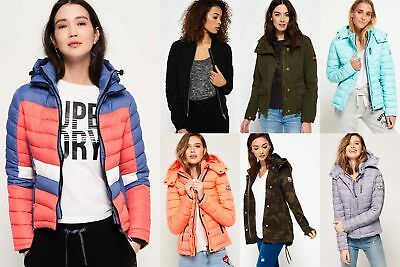 View Details New Womens Superdry Jackets4 Selection - Various Styles & Colours 181218 • 27.19£