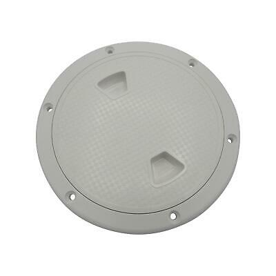£10.50 • Buy 7 Inch White Plastic Deck Inspection Hatch - 7  Marine Water Tight Round Cover