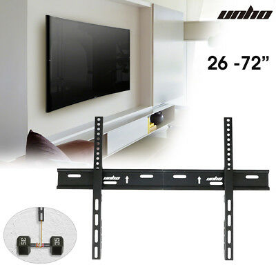 Low Profile Slim TV Wall Mount Bracket Flat Panel Monitor VESA For Bush Sony LG • 10.96£